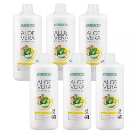LR Aloe Vera Drinking Gel Immune Plus 6x 1000 ml