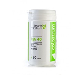 Colostrum (kolostrum) kapsle 30 ks á 400mg - IgG 40